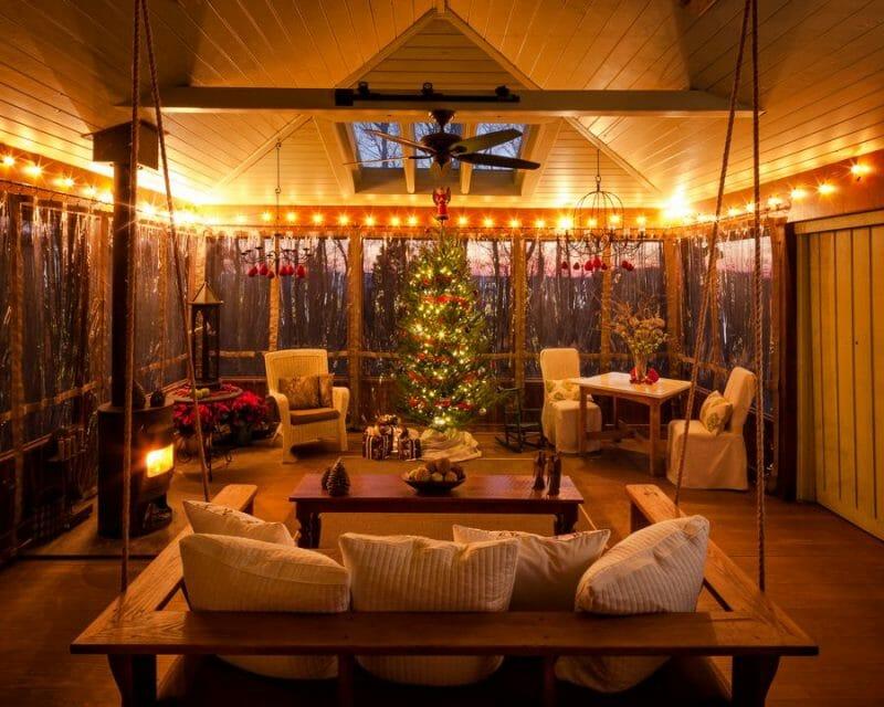 decembrie veranda