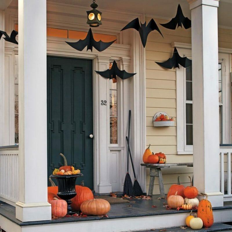 halloween veranda