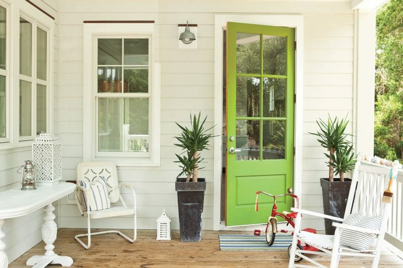 iulie veranda
