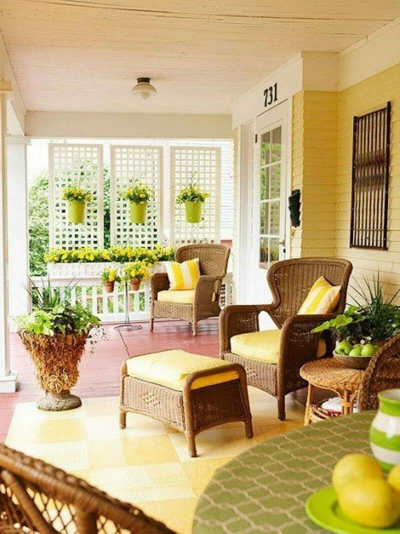 iunie veranda