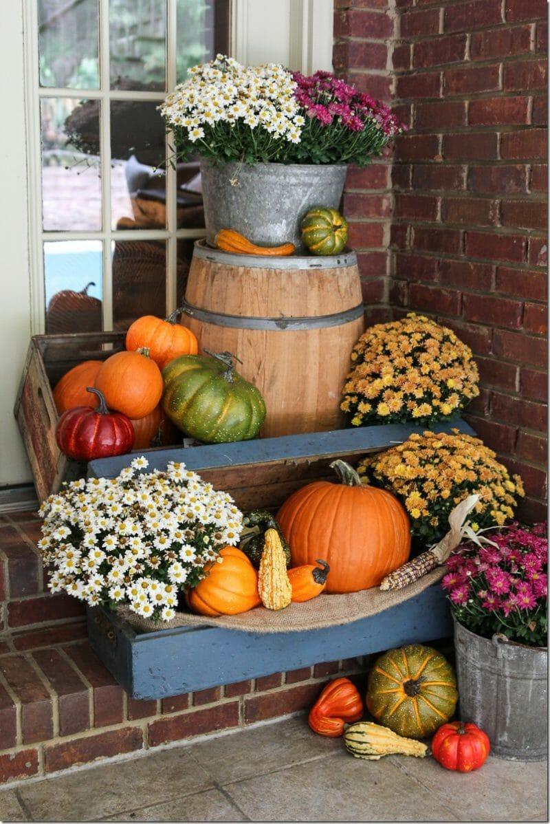 octombrie veranda