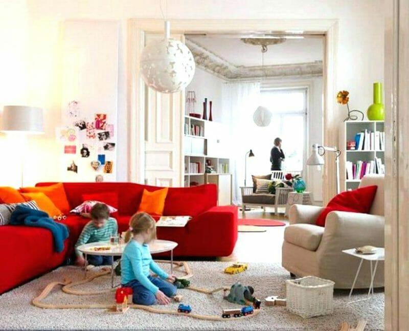 decor living adaptat pentru copii