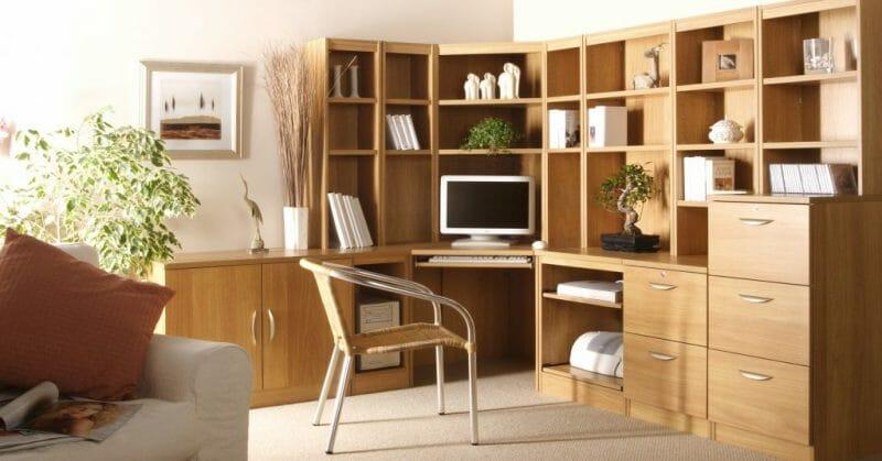 idei de decorare a biroului de acasă