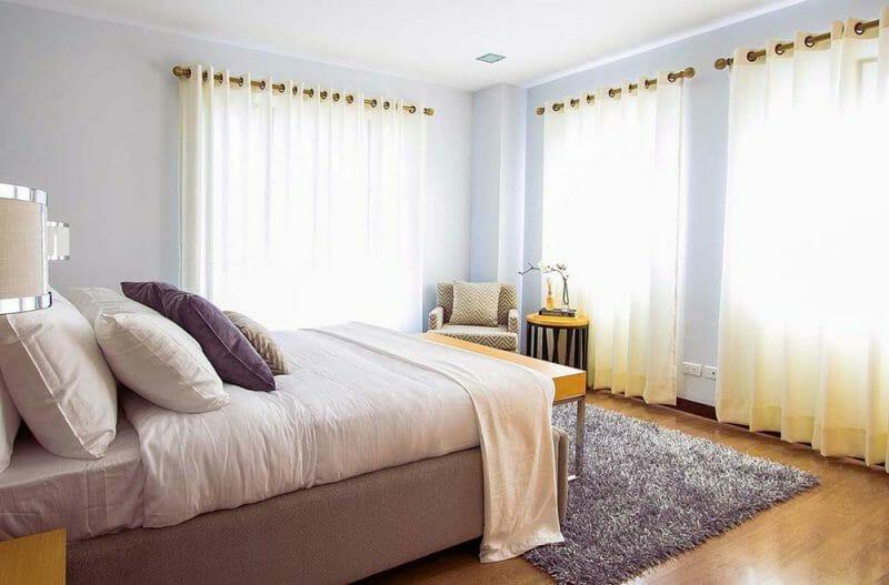 luminozitate dormitor modern